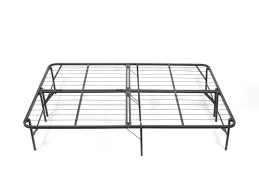 bedding king foldable metal bed frame black best choice products