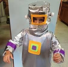 Robot Halloween Costume Homemade Robot Costume Boys Robot Costumes
