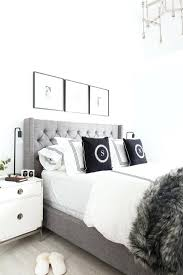 light grey tufted headboard black and white headboard grey tufted headboard light and bright