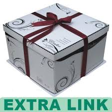 creative design custom service paper packaging cake boxes with
