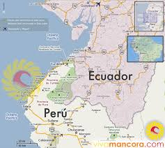Lima Map How To Get In Mancora Perou