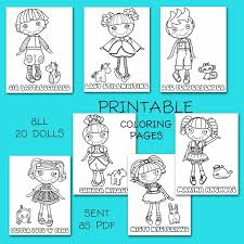 ideas lalaloopsy easter coloring pages keyid