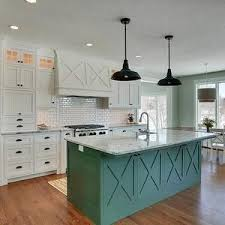 green kitchen island white kitchen cabinets with antique bronze hardware beautiful