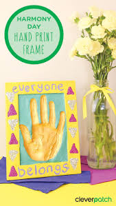 make a statement with this lovely hand print frame and show you re ready