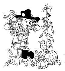 winnie pooh scarecrow watching pumpkin autumn