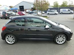 peugeot 207 sedan used black peugeot 207 for sale cheshire