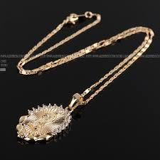 vintage mens necklace images Cweel necklace for women men statement vintage jesus pendant jpg