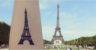 eiffel tower tattoos popsugar smart living