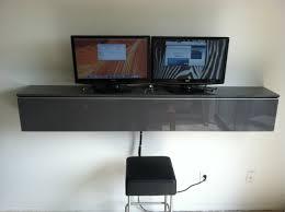 Wall Mounted Computer Desk Ikea Ikea Floating Desk Shelf Home Furniture Decoration