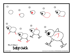 how to draw a baby art for kids hub drawings