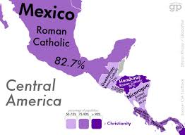Mexico Central America And South America Map by These Are The Most Religious Places In The World And What They U0027re