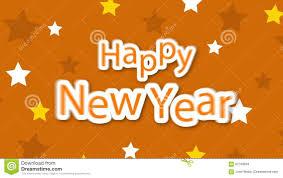 happy new year on yellow stock 62769833