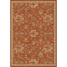 Rust Area Rug Safavieh Florenteen Rust Ivory 5 Ft 1 In X 7 Ft 7 In Area Rug