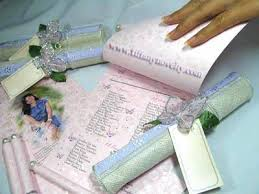 Scroll Invitation Sinamay Scroll Invitation Holder For Wedding Id 2854618 Product