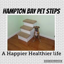 Dog Steps For High Beds Hampton Bay Pet Steps