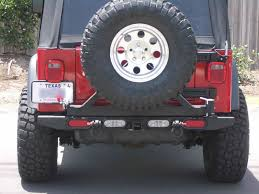 jeep wrangler backup lights 3rd eye brake lights without tire carrier jeepforum com
