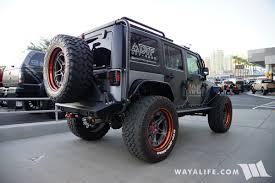 jeep granite crystal 2017 sema kargomaster granite crystal jeep jk wrangler unlimited