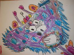 Monster Vs Aliens Halloween by We Heart Art Organic Shape Monsters