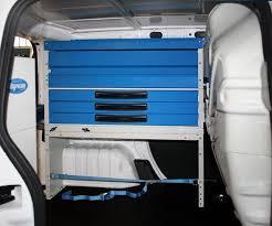 scaffali per furgoni usati allestimento per citroen nemo con cassetti trasparenti