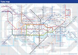 Tube Map London Night London Underground Map London Tube Map With Zone 1 9