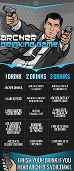 Drinking Game Meme - archer drinking game that s fun pinterest drinking games