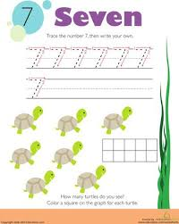 8 best kids images on pinterest number 7 free preschool and