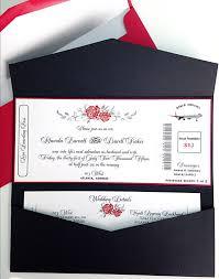 Boarding Pass Wedding Invitation Card Airline Boarding Pass Invitation Cruise Ship Wedding