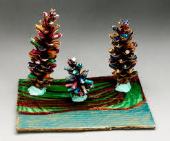 sparkling pine forest craft crayola com