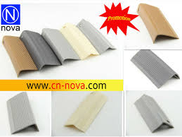 thin plastic strips rubber flooring trim stair nosing plastic pvc