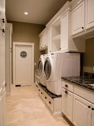 Laundry Room Storage Cabinets Ideas 10 Clever Storage Ideas For Your Tiny Laundry Room Hgtv S