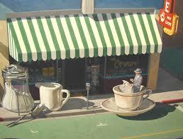 Store Awning Scott Moore Artist Laguna Beach California