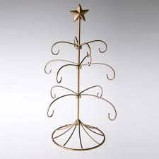 exclusive metal bride u0027s tradition ornament display tree gold stand