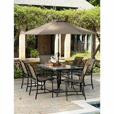Oasis Outdoor Patio Furniture by Garden Oasis Harrison 7 Piece Sling High Dining Set Limited