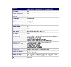 Administrative Assistant Job Duties For Resume Senior Administrative Assistant Resume Template