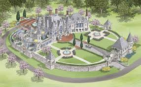 chateau style homes chateau style home plans exterior design castles