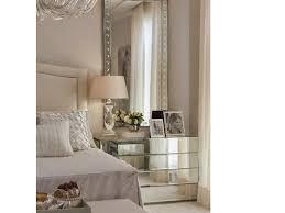 Small Mirrored Nightstand Bedroom Unusual Mirrored Nightstand Cheap Leaning Floor Mirror