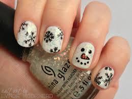 christmas nail art christmas nails pinterest winter nails