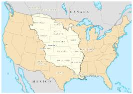 Map Of The Eastern United States by Louisiana Purchase Wikipedia
