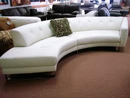furniture fabulous contemporary leather sofa white button tufted