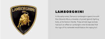car lamborghini logo did you the meaning these car brand logos brandingmag
