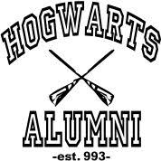 hogwarts alumni sticker harry potter stickers harry potter stickers and harry potter