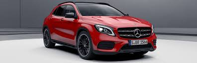 mercedes gla amg mercedes gla equipment lines and packages