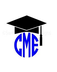 monogram graduation cap monogram graduation cap tassel svg instant design for
