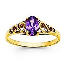 ring with children s birthstones kids birthstone rings ebay