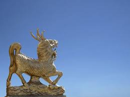 qilin statue magical unicorn qilin