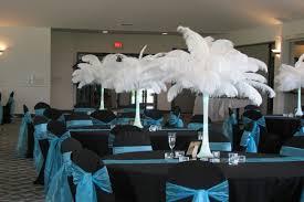 teal wedding decorations wonderful black and teal wedding decorations 43 in wedding table
