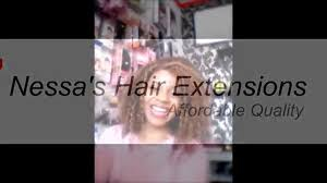 Hair Extensions Kitchener by Nessa U0027s Hair Extensions Youtube