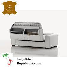 canapé convertible design italien canapé rapido canapé lit soldé toute la collection de canapés cuir