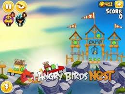 angry birds seasons summer camp update angrybirdsnest