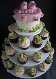 cupcake tower for baby shower ideas archives baby shower diy